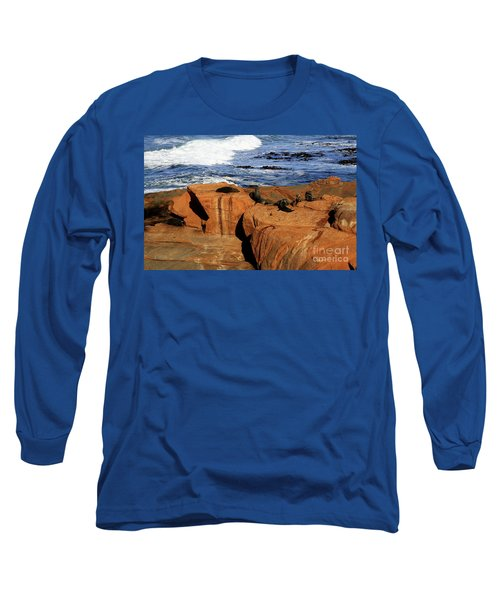 The Lazy Lounging Seals Long Sleeve T-Shirt
