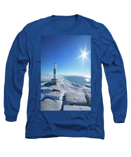 Long Sleeve T-Shirt featuring the photograph The Light Keepers by Phil Koch