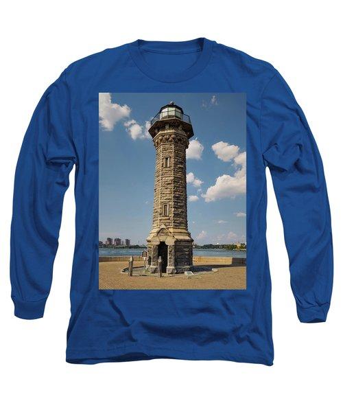 The Lighthouse Roosevelt Island Long Sleeve T-Shirt