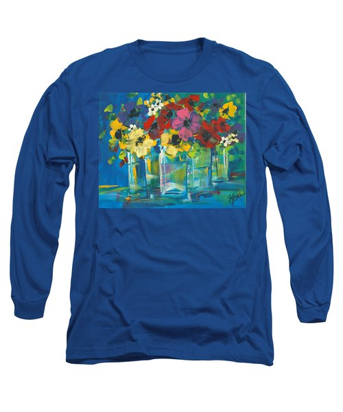 The Line-up Long Sleeve T-Shirt by Terri Einer