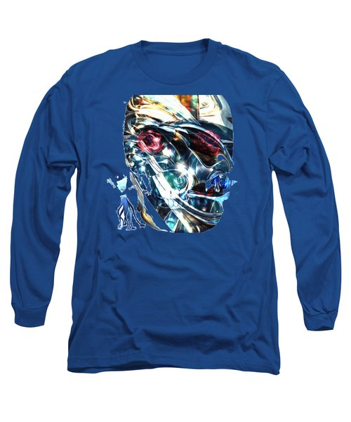 The Man In The Chromium Mask Long Sleeve T-Shirt