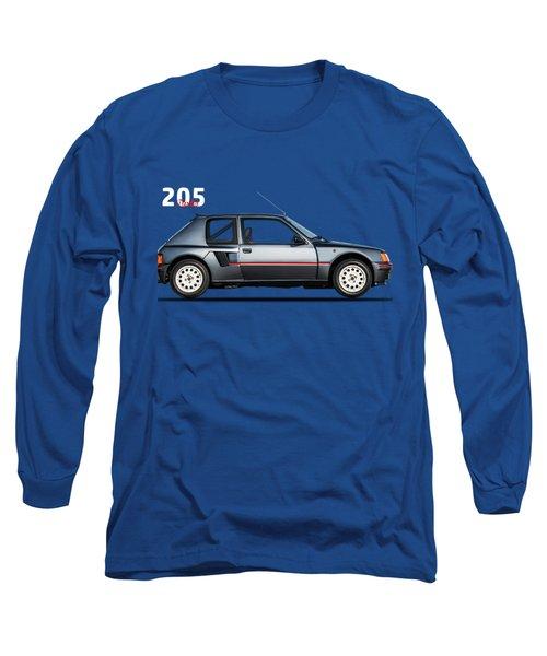 The Peugeot 205 Turbo Long Sleeve T-Shirt by Mark Rogan