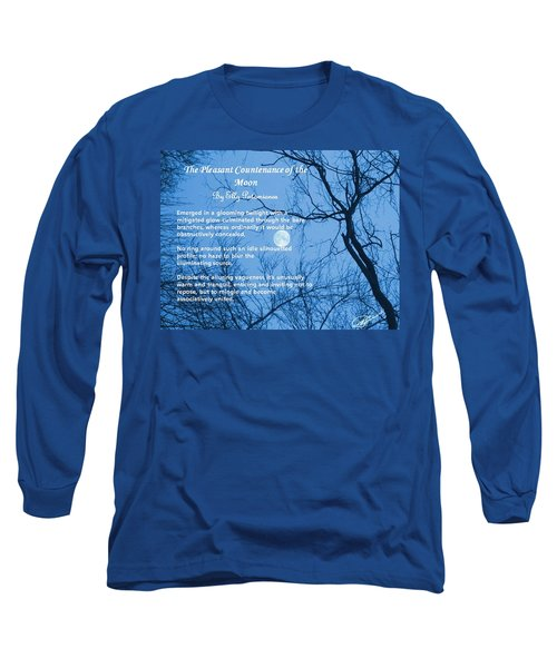 The Pleasant Countenance Of The Moon Long Sleeve T-Shirt