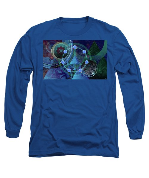 The Prism Of Time Long Sleeve T-Shirt by Kenneth Armand Johnson