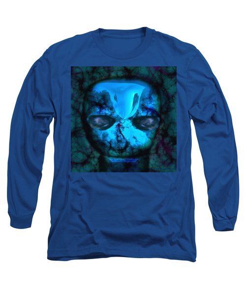 The Pukel Stone Face Long Sleeve T-Shirt
