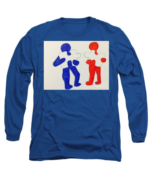 The Puzzles People  Long Sleeve T-Shirt