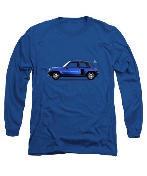 The Renault 5 Turbo Long Sleeve T-Shirt by Mark Rogan