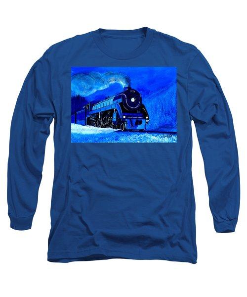 The Royal Blue Express Long Sleeve T-Shirt