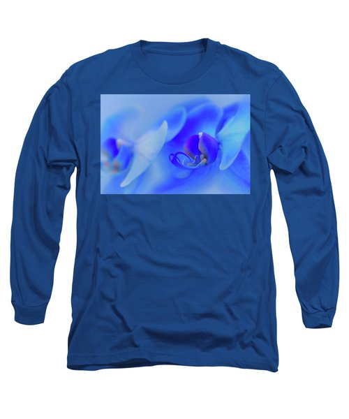 The Scent Of Blue Mystique Long Sleeve T-Shirt
