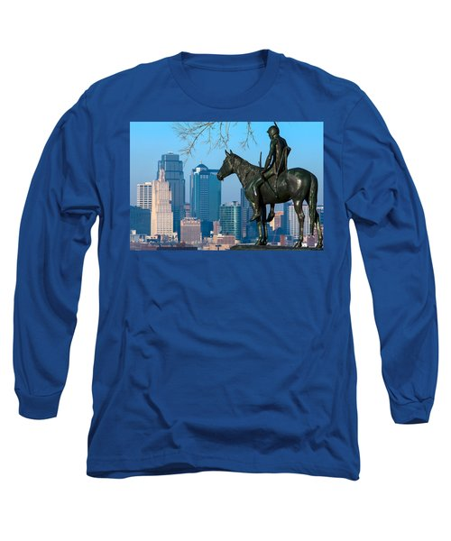 The Scout Statue Long Sleeve T-Shirt
