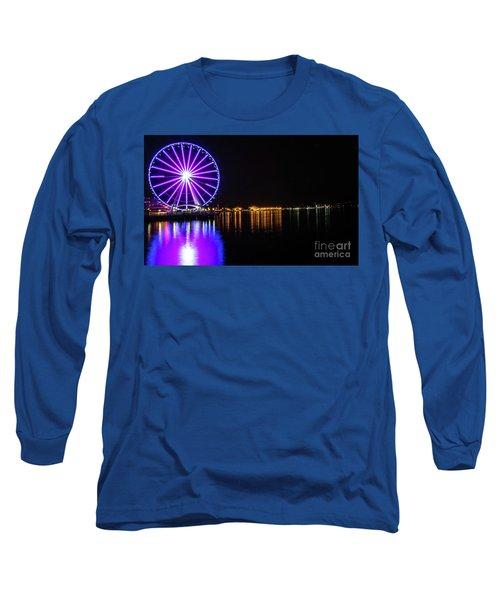 The Seattle Ferris Wheel Long Sleeve T-Shirt