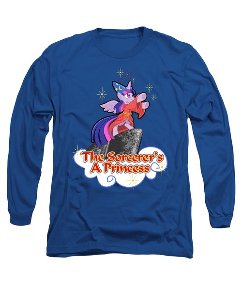 The Sorcerer's A Princess Long Sleeve T-Shirt by J L Meadows