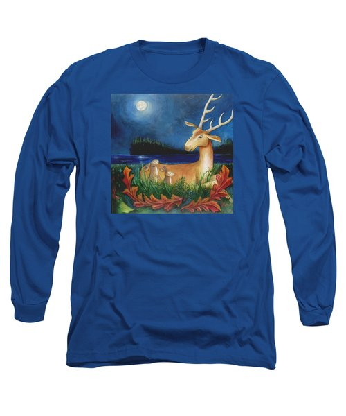 Long Sleeve T-Shirt featuring the painting The Story Keeper by Terry Webb Harshman