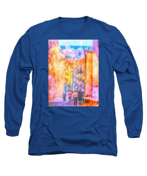 The Streets Of Prague Long Sleeve T-Shirt