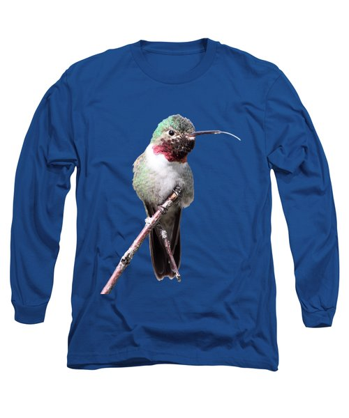 Long Sleeve T-Shirt featuring the photograph The Taste Of Air by Shane Bechler