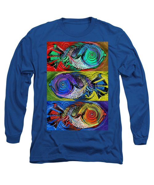 The Three Fishes Long Sleeve T-Shirt