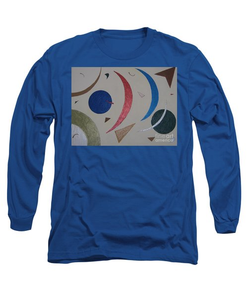 The Universe Long Sleeve T-Shirt by Barbara Yearty