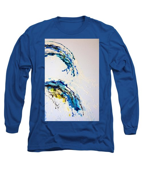 The Wave 3 Long Sleeve T-Shirt by Roberto Gagliardi