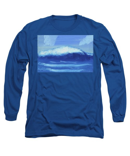 The Wave Long Sleeve T-Shirt by Artists With Autism Inc