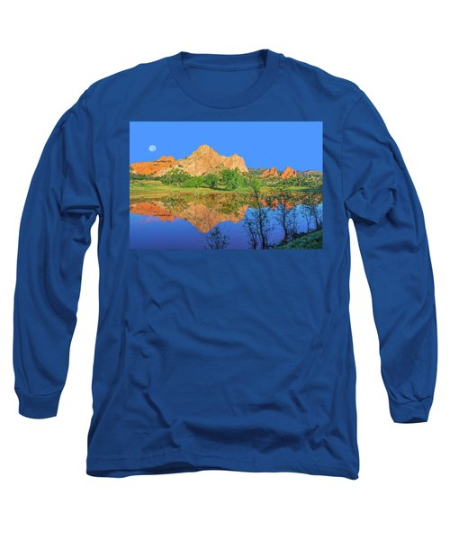 There's A Plenitude Of Awe-inspiring Rock Formations In Colorado.  Long Sleeve T-Shirt by Bijan Pirnia