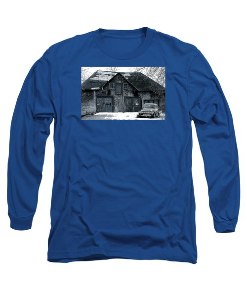 This Old House  6 Long Sleeve T-Shirt by Iris Gelbart