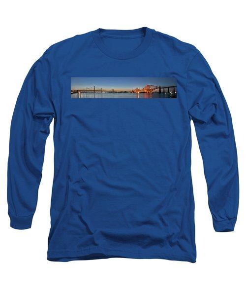 Three Forths At Dusk Long Sleeve T-Shirt