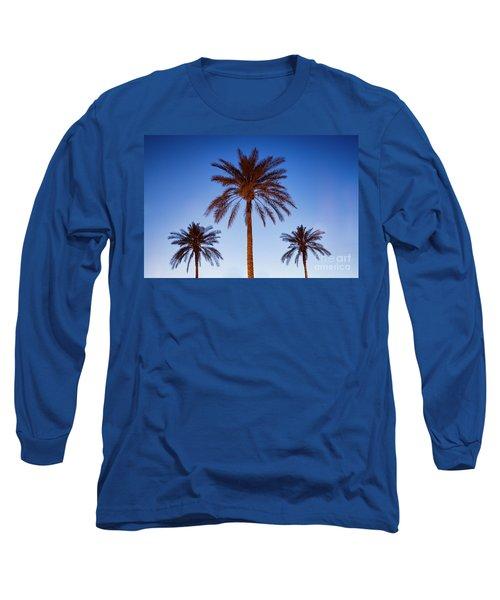Three Palms Long Sleeve T-Shirt