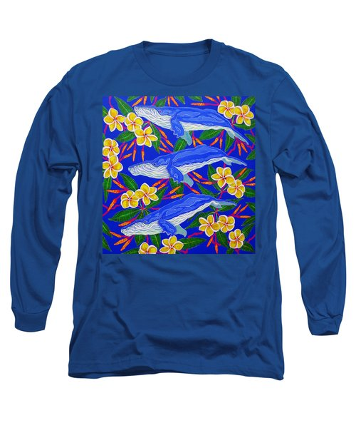 Three Whales  Long Sleeve T-Shirt