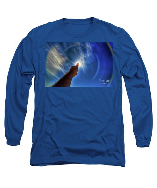 Thumb To The Sky Long Sleeve T-Shirt