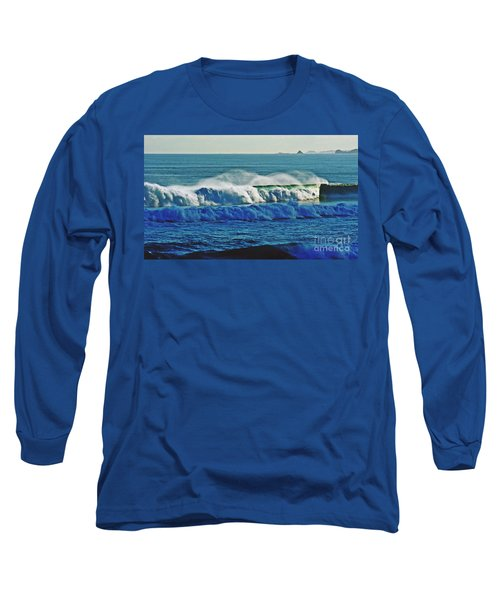 Thunder Of The Waves Long Sleeve T-Shirt