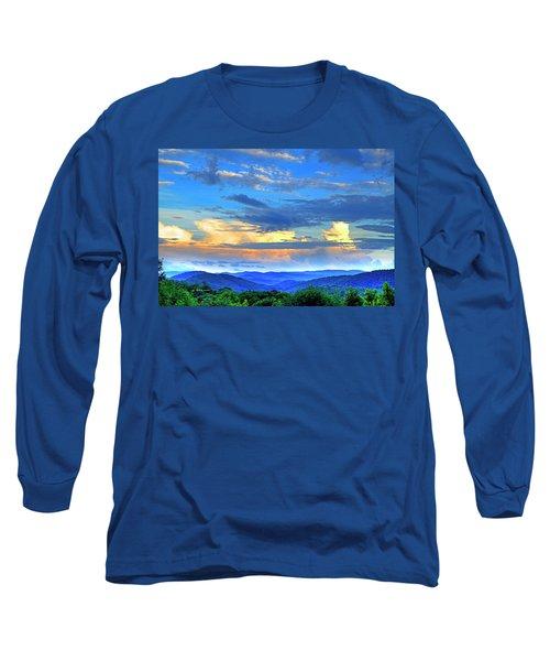 Thunderheads Long Sleeve T-Shirt by Dale R Carlson