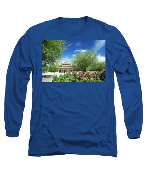 Tibet Scenery In Autumn Long Sleeve T-Shirt