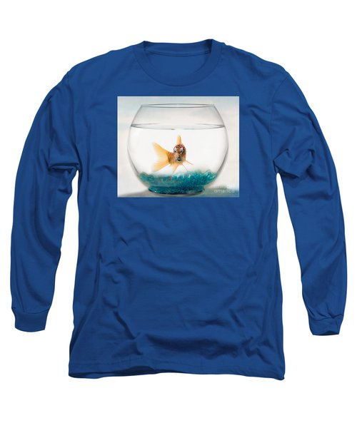 Tiger Fish Long Sleeve T-Shirt by Juli Scalzi