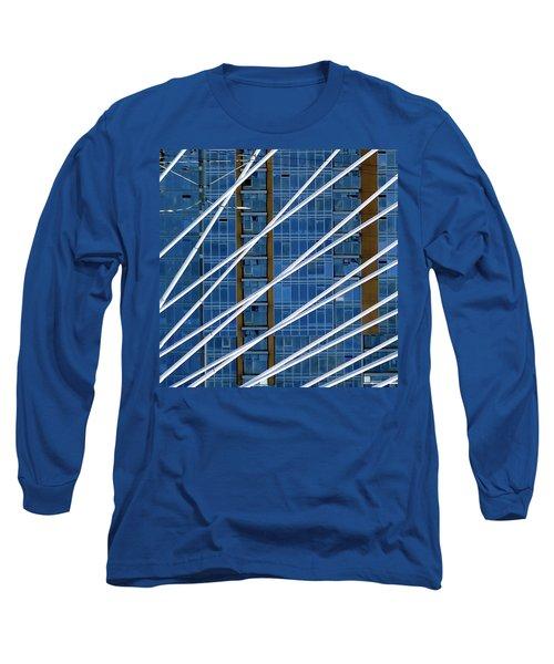 Tilikum Bridge Long Sleeve T-Shirt by Jerry Sodorff