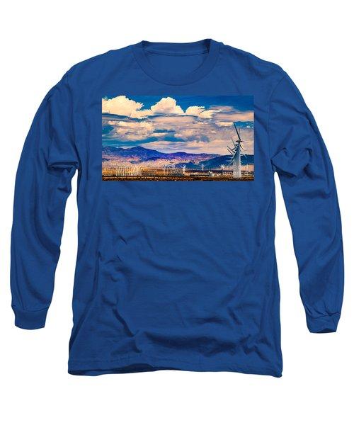 Tilting At Windmills Long Sleeve T-Shirt