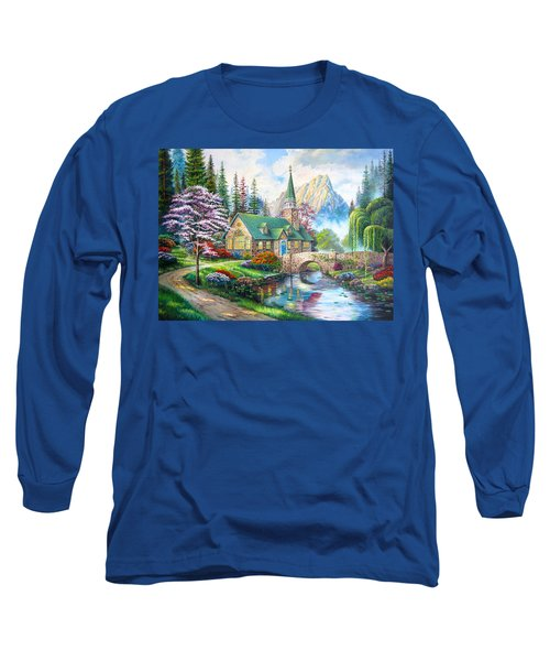 Time To Come Home Long Sleeve T-Shirt by Karen Showell