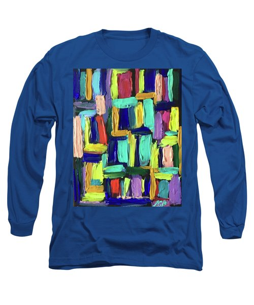 Times Square Nighttime Long Sleeve T-Shirt