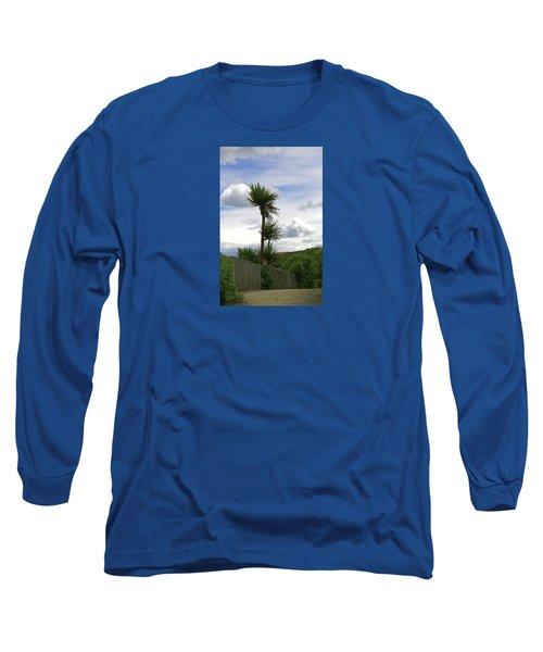 Long Sleeve T-Shirt featuring the photograph To Kouka Cabbage Tree by Nareeta Martin