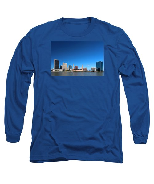 Long Sleeve T-Shirt featuring the photograph Toledo Skyline I by Michiale Schneider