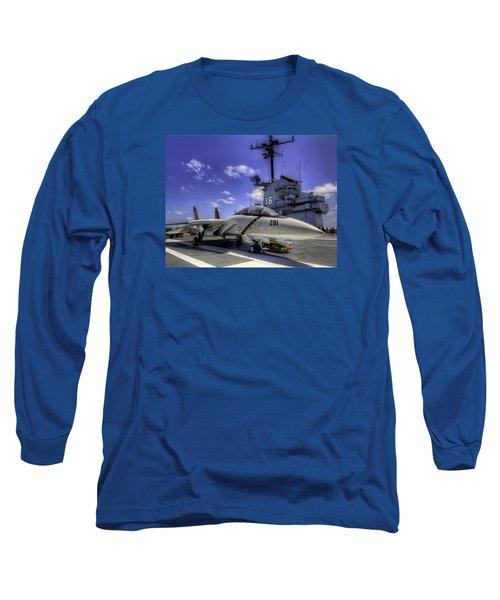 Tomcat On Deck Long Sleeve T-Shirt