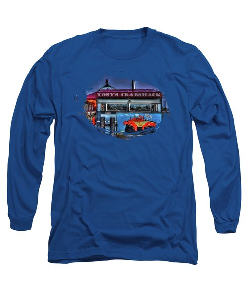 Tonys Crabshack Long Sleeve T-Shirt by Thom Zehrfeld