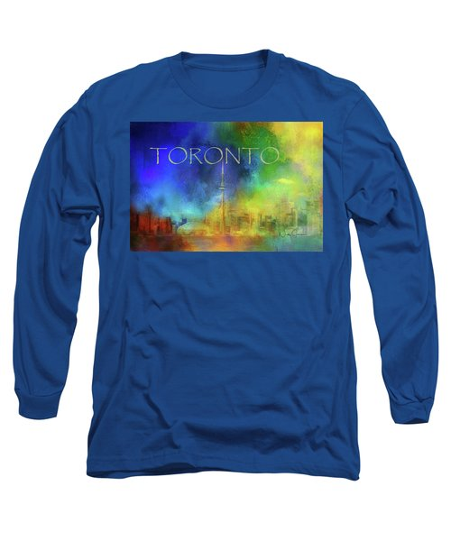 Toronto - Cityscape Long Sleeve T-Shirt