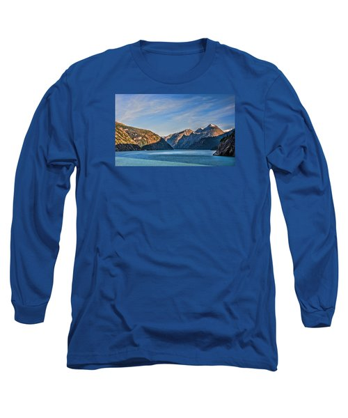 Tracy Arm Fjord  Long Sleeve T-Shirt by Lewis Mann