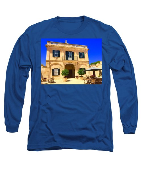 Traditional Menorcan Farmhouse Long Sleeve T-Shirt