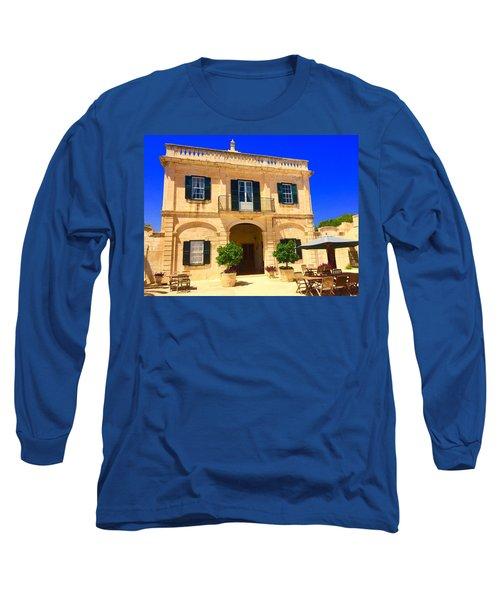 Traditional Menorcan Farmhouse Long Sleeve T-Shirt