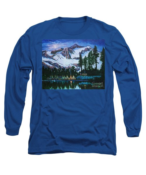 Trails West II Long Sleeve T-Shirt by Michael Frank