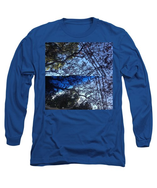 Long Sleeve T-Shirt featuring the photograph Tree Symphony by Nora Boghossian