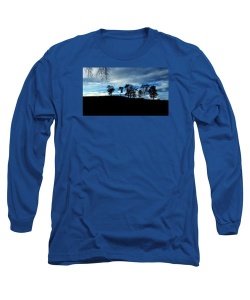 Trees Long Sleeve T-Shirt by RKAB Works