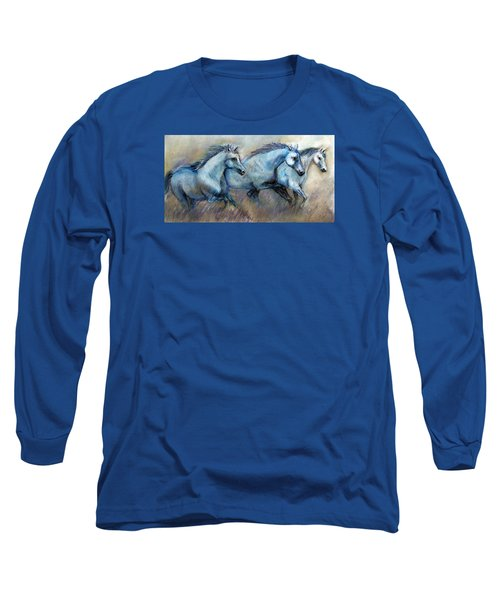 Tres Amigos Tshirt Long Sleeve T-Shirt