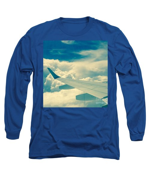 Trip To Long Sleeve T-Shirt by France Laliberte
